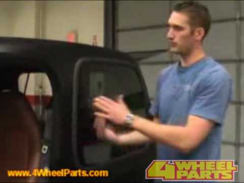 How To Install A Jeep Hard Top From Bestop Youtube