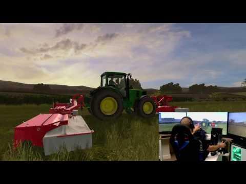 farming simulator 17 Drumard Farm new mowing setup