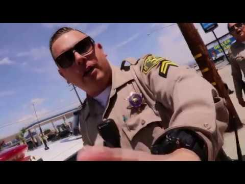 BATTERED BY BELLFLOWER SHERIFF'S ON A CW 1ST AMENDMENT AUDIT
