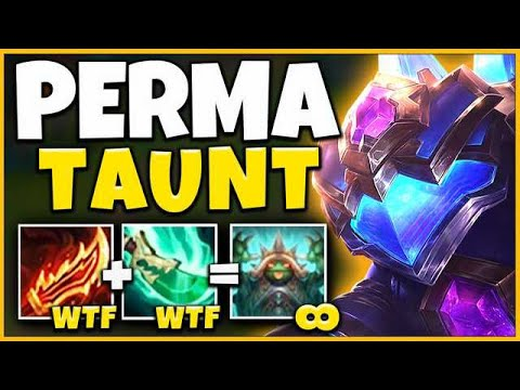 *NEVER-ENDING TAUNT* THE NEW RAREST SKIN IN LEAGUE (5.0 ATTACK SPEED RAMMUS) - League Of Legends