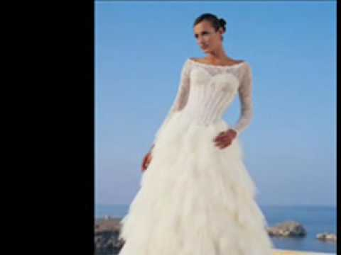 50 Designer Wedding Dresses - YouTube