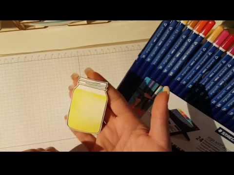 Lovely summer card with Lemon Zest mit Produkten von STAMPIN UP