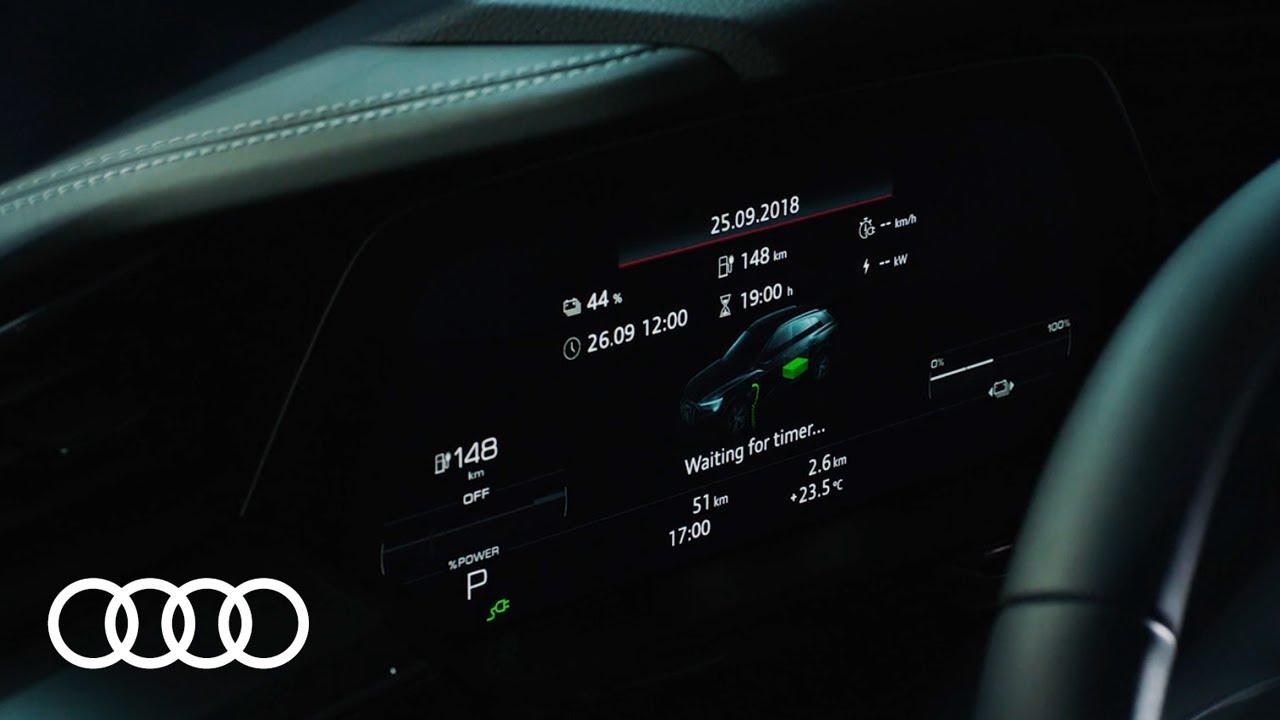 Audi e-tron – Intelligente Ladefunktionen