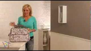 Bumble Collection Rebecca Tote Diaper Bag Starry Sky - Product Review Video