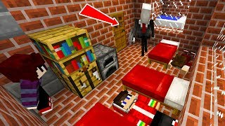 SUPER SLENDERMAN INVADIU MINHA CASA NO MINECRAFT