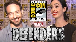 Marvel's Defenders Cast at Comic-Con 2017! - Electric Playground