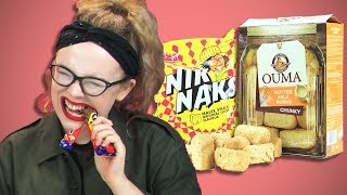 Irish People Taste Test South African Snacks