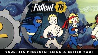 Fallout 76 – Vault-Tec Presents: Being a Better You! Perks Video PEGI