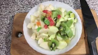желе с ягодами и фруктами