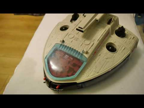 MANTA Force MANTA Ship 80s Space Toy Like Starwars; Inspecti