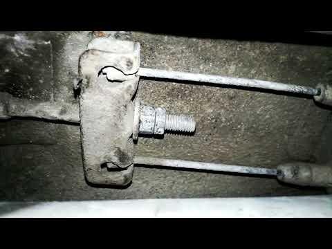 Что нужно делать если плохо держит ручник на автомобиле ВАЗ 2115-2108