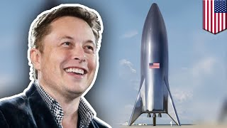SpaceX Starship: Elon Musk shares new images of prototype - TomoNews