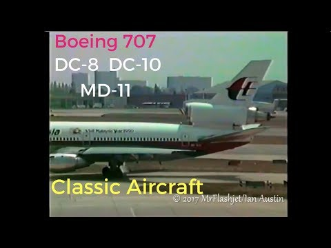 Boeing 707 / Mcdonnell Douglas DC-8, DC-10, MD-11 SPECIAL at London Heathrow + Gatwick
