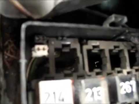 Złącze Diagnostyczne Audi A6 C4 Diagnostic Obd Socket Port Youtube
