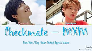 Han/rom/eng Checkmate - Mxm Color Coded Lyrics Video