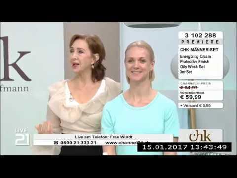 Christine Kaufmann bei Channel21 am 15.01.2017 - Teil 4