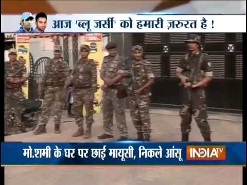 Cricket World Cup 2015: Tight Security Outside Residence of Team India's Players - India TV