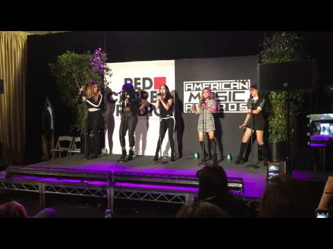 Fifth Harmony performs at the Red Carpet Radio