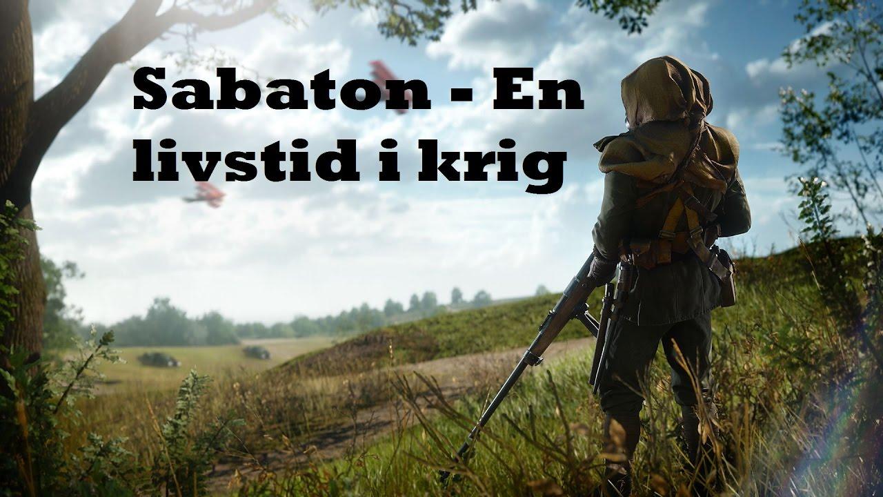 sabaton en livstid i krig