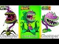 Plants vs Zombies - Plants from Garden Warfare - Plants vs Zombies 2 - PVZ Heroes and Gameplay