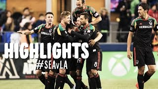 HIGHLIGHTS: Seattle Sounders vs LA Galaxy | November 30, 2014