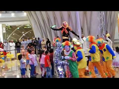 Grand opening ceremony of Grand Mall. Bowser, Muscat, Oman.
