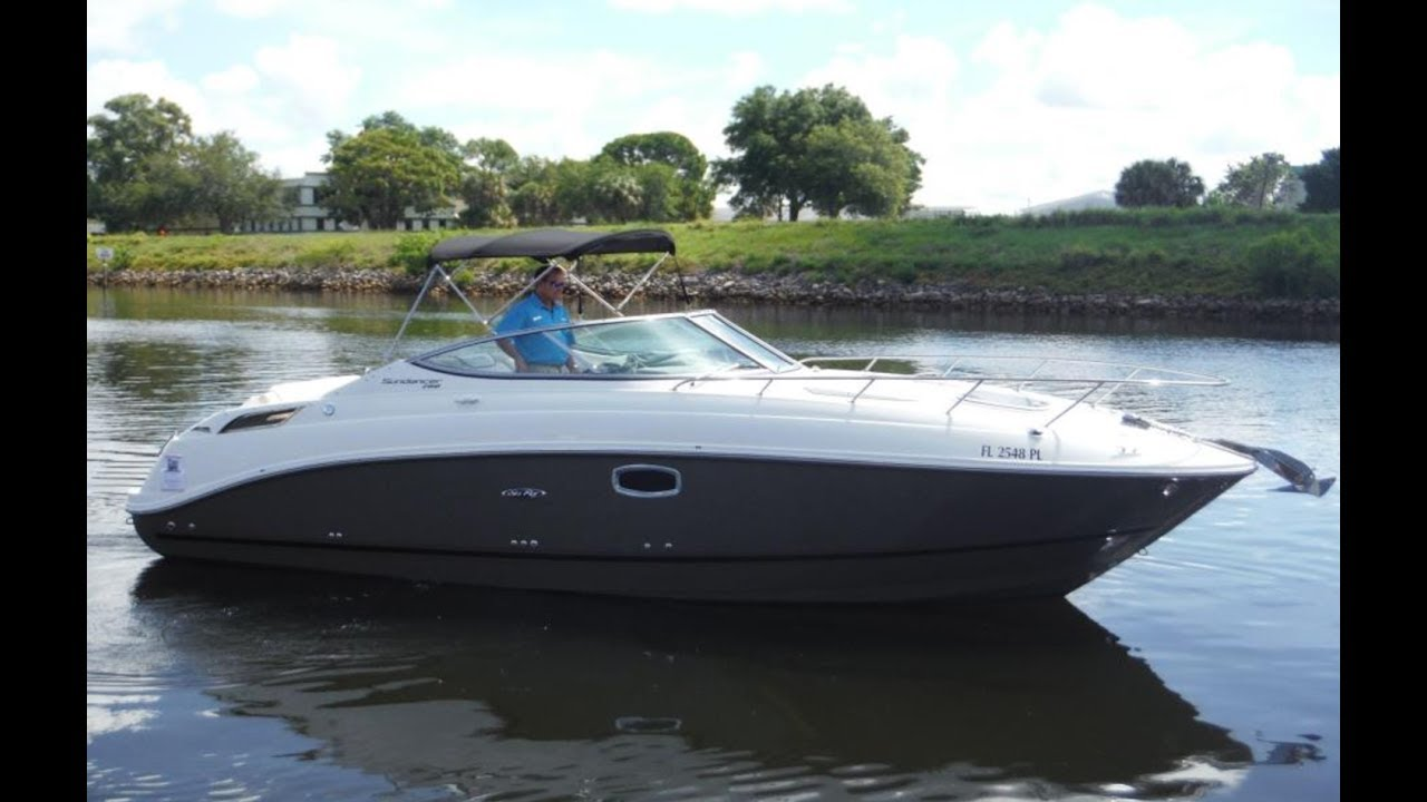 2013 Sea Ray 260 Sundancer Boat For Sale at MarineMax Venice