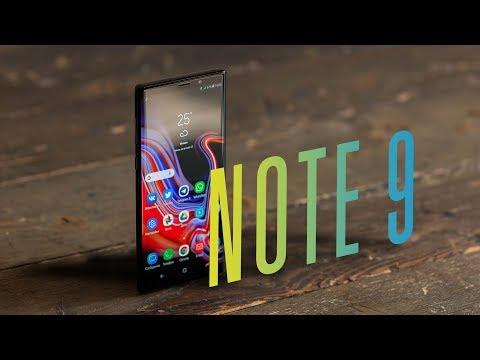 Обзор Galaxy Note 9