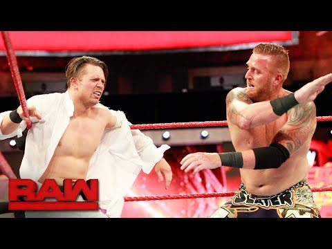 The Miz vs. Heath Slater - Intercontinental Championship Match: Raw, July 3, 2017