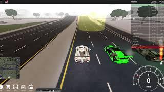 ROBLOX Vehicle simulator ferrari laferrari vs lamborghini veneno Race
