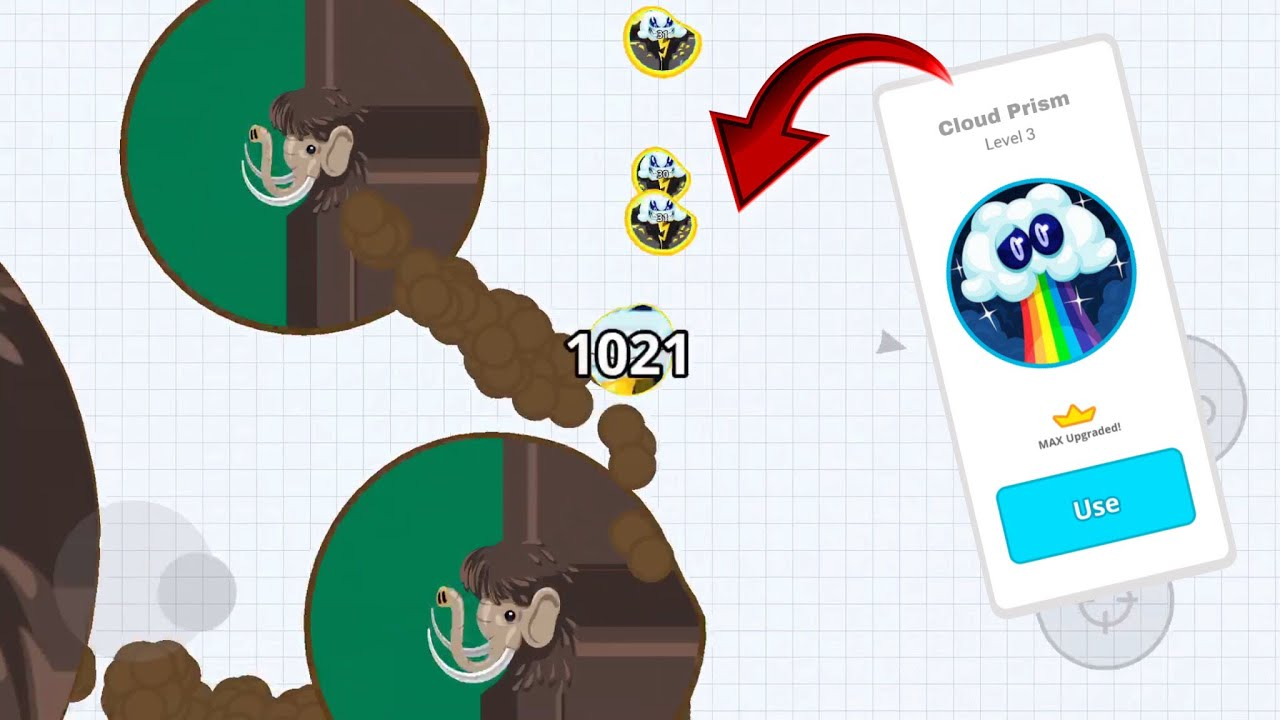 CUSTOM SKIN LVL 3 IN AGAR.IO SOLO VS HACKERS + INSANE REVENGE - AGAR.IO MOBILE