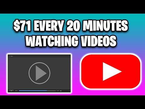 EARN $71 Every 20 Minutes WATCHING VIDEOS [Make Money Online For Beginners In 2020]