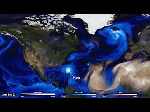 NASA: How hurricanes Harvey, Irma formed