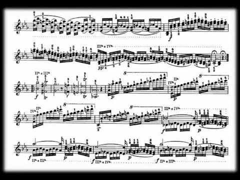 Niccolò Paganini, 24 Capricci per violino Op. 1 1/2