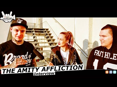 THE AMITY AFFLICTION interview with Ahren Stringer & Dan Brown | www.pitcam.tv