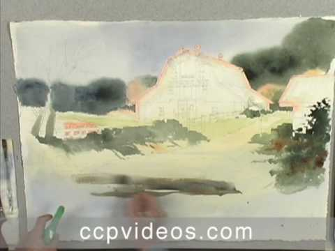 Acrylic Landscapes the Watercolor Way with Charles Harrington