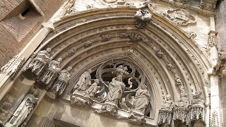 TOURISME : Albi (France) Parte 1/3 - Cathedrale Sainte-Cecile