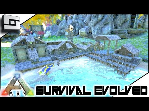 ARK: Survival Evolved - POOPING EVOLVED BASE TOUR! S2E88 ( Gameplay )