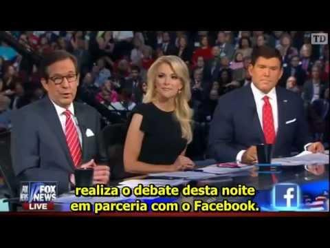 Debate das Primárias do Partido Republicano 2016 (Legendado)