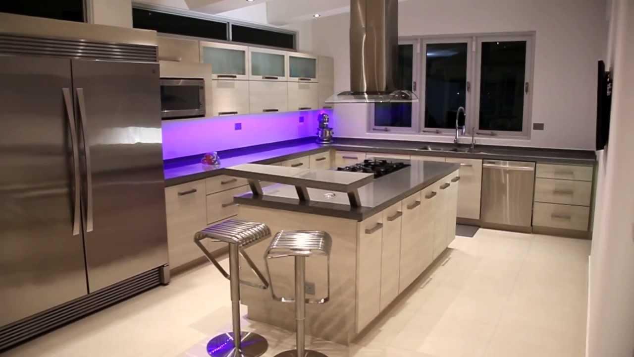 Espacio moderno p r youtube for Gabinetes de cocina modernos