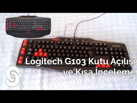 Logitech G103 Kutu Açılışı Ve Kısa İnceleme