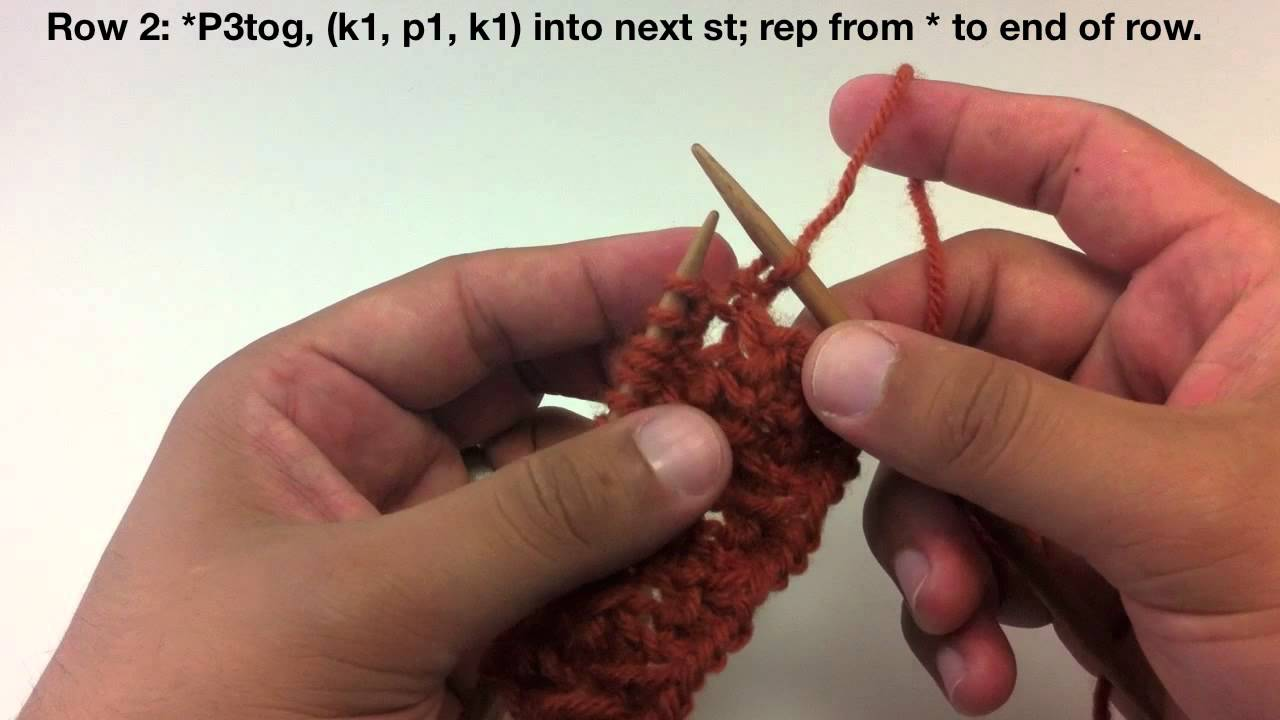Knitting Blackberry Stitch In The Round : How to Knit the Raspberry (Blackberry) Stitch - YouTube