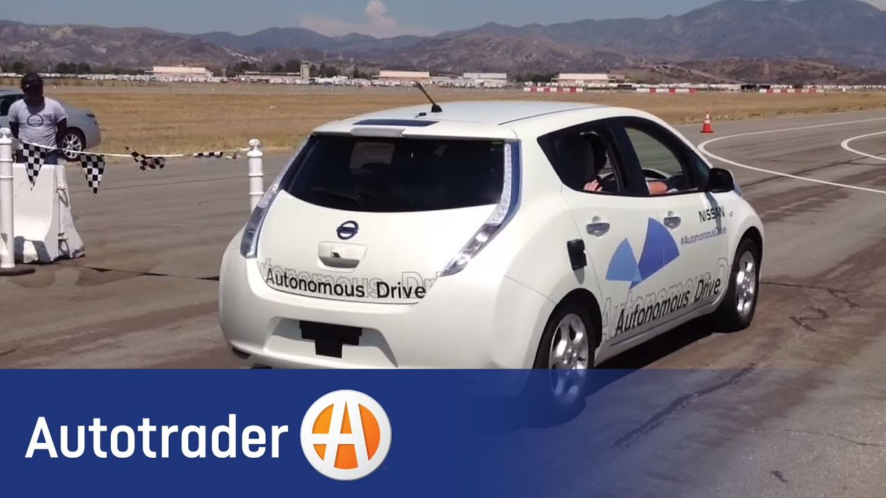 Nissan\'s Self-Driving Car | Autotrader - YouTube