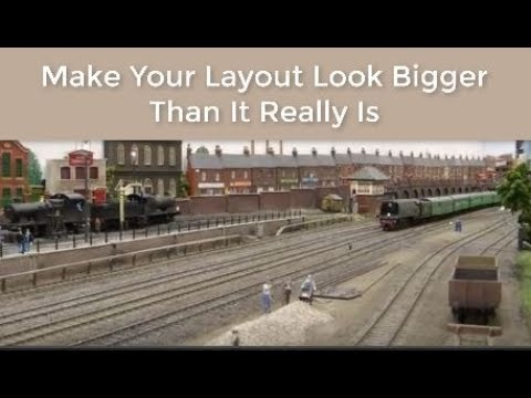 Model Railroad Tricks To Maximize Your Layout Space & Track for More Trains