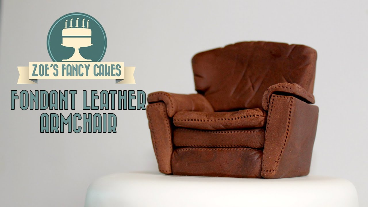 Fondant Arm Chair And Sofa How To Cake Decorating Tutorial