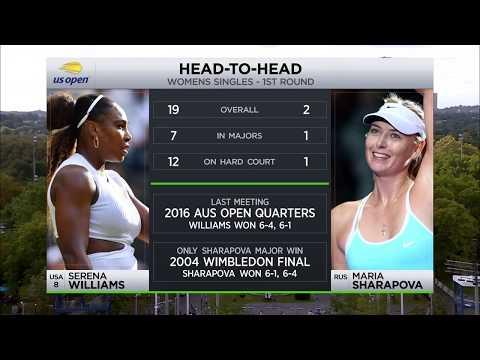 Tennis Channel Live: Serena Williams Vs. Maria Sharapova 2019 US Open First Round Preview