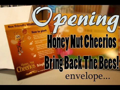 BRING BACK THE BEES!! By Honey Nut Cheerios