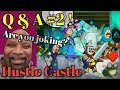 Hustle Castle Q & A #2 + Hot tips | Book 4 - Chp 26 |