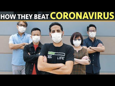 How They Beat Coronavirus