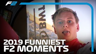 F2 Funnies! | 2019 FIA Formula 2 Season